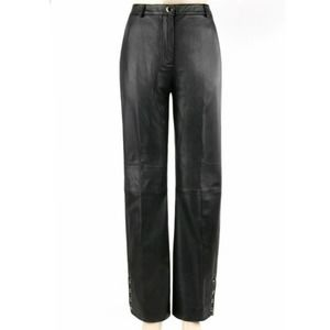 St. John Collection Marie Gray NWT Leather Pant 10